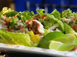mahi mahi lettuce wrap