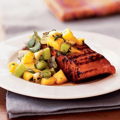 salmon mango kiwi
